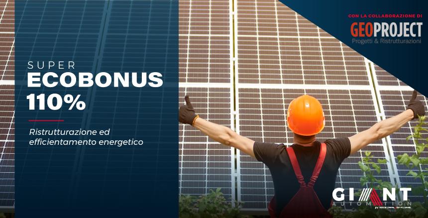 Superbonus 2020 al 110%