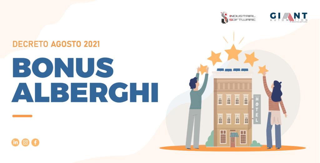bonus alberghi 2021
